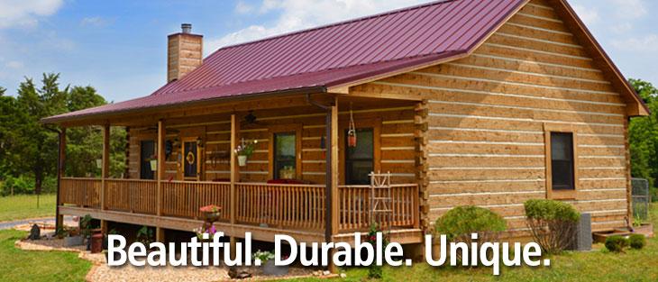 Custom Predesigned Log Cabin Home Kits